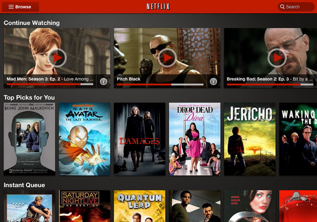 Netflix Announces New Android Tablet App