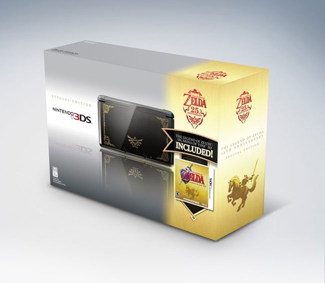Zelda And Mario Themed 3DS Bundles