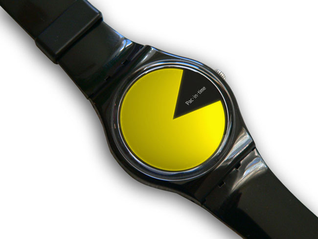 Pac In Time Watch