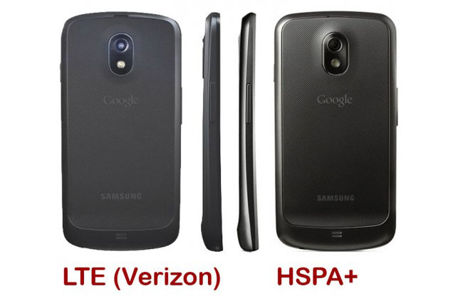 LTE Samsung Galaxy Nexus Compared To HSPA+ Version