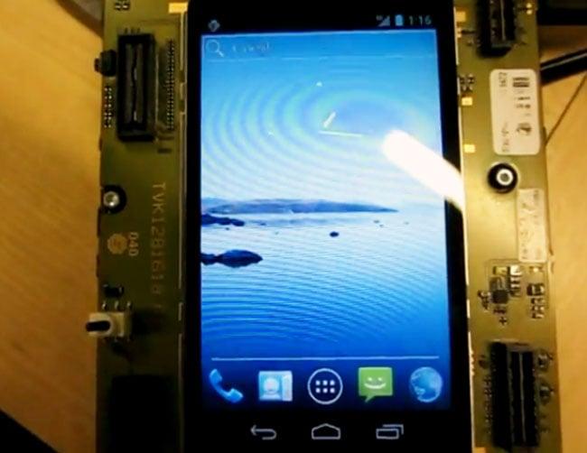 Sony Ericsson Nypon LT22i Android 4.0 ICS Handset Leaked