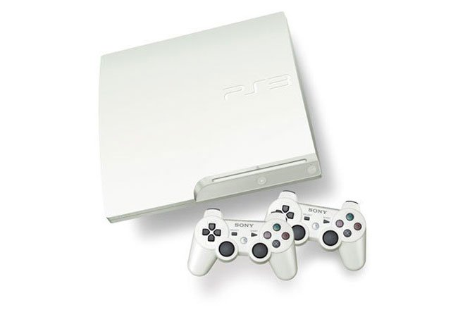 White PlayStation 3