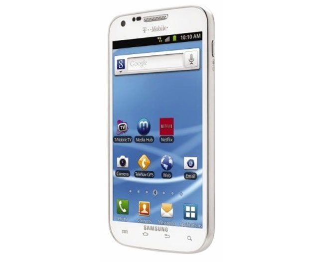 White Samsung Galaxy S II Headed To T-Mobile