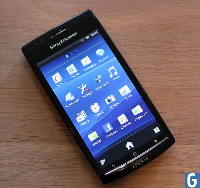 Sony Ericsson Xperia Arc S — Википедия