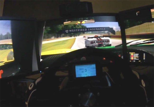 5 Screen Racing Rig