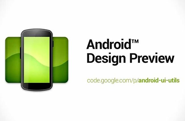 Android Design Preview
