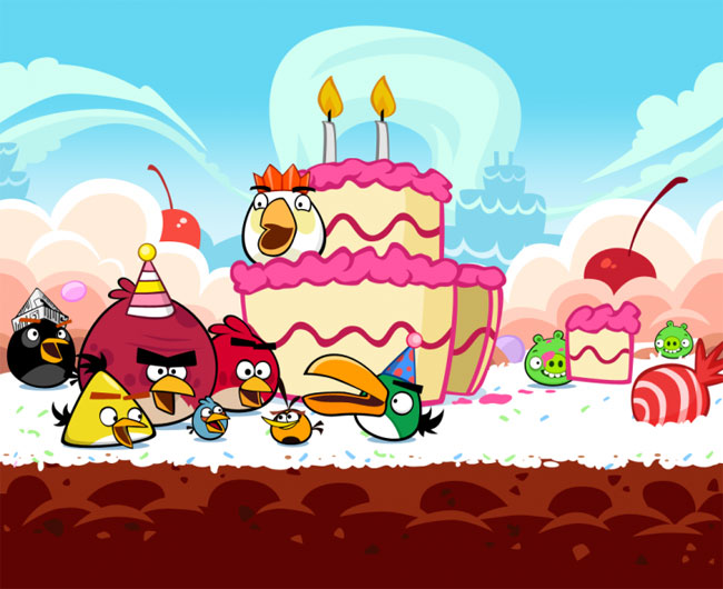 Angry Birds Celebrates 2nd Birthday, New Update Released