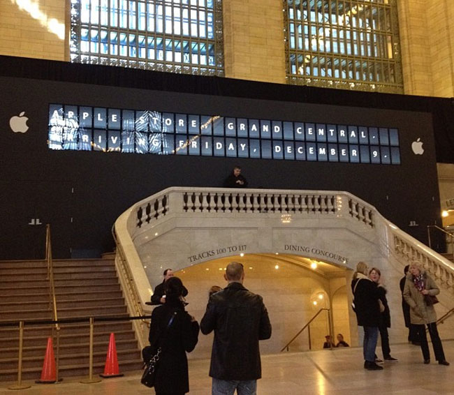 Apple Grand Central Store Opening