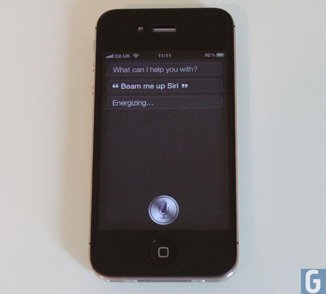 Siri iPhone 4S