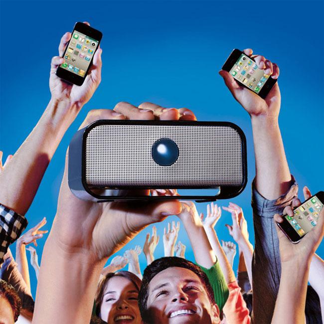 Big Blue Wireless Speaker