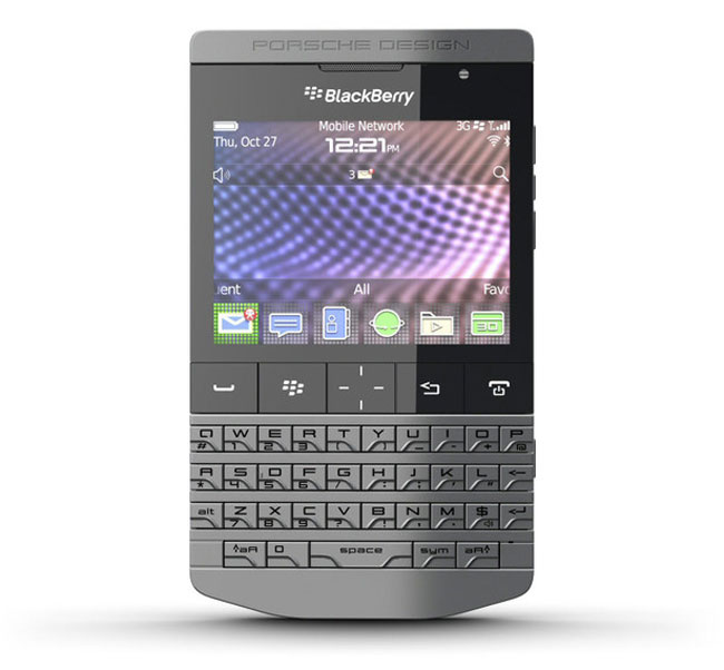 Porsche Design BlackBerry P9981 Appears At The FCC