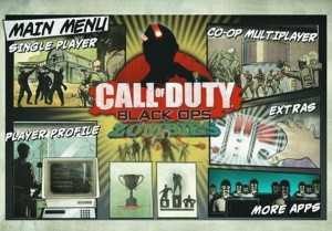 Call of Duty-Black Ops Zombies iPad