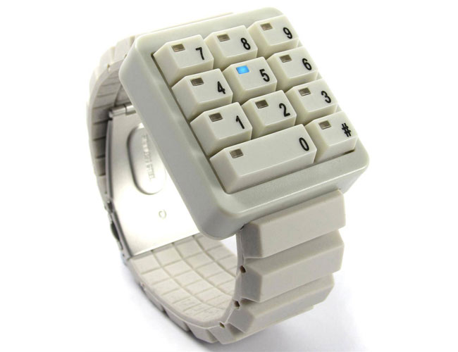 Click Keypad LED Watch