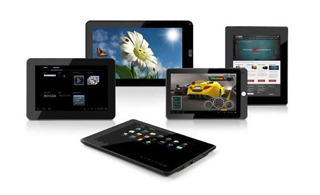 Coby Android 4 Tablets