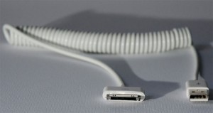 Curly Cable For iPhone And iPad (Video)