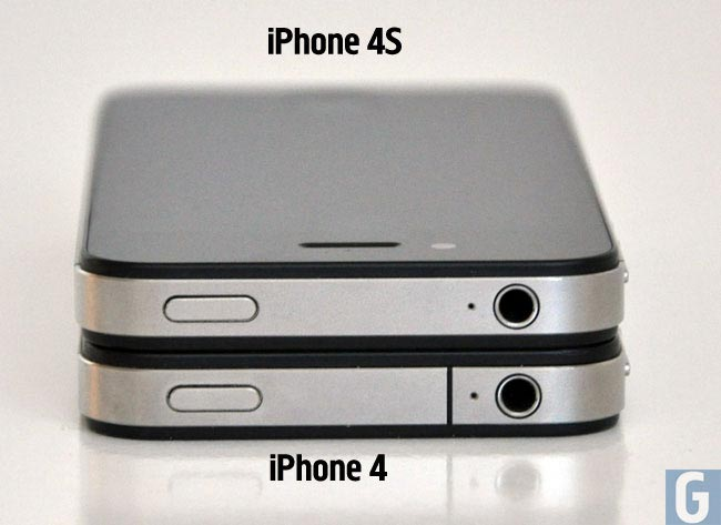 Difference Between The iPhone 4 And iPhone 4S