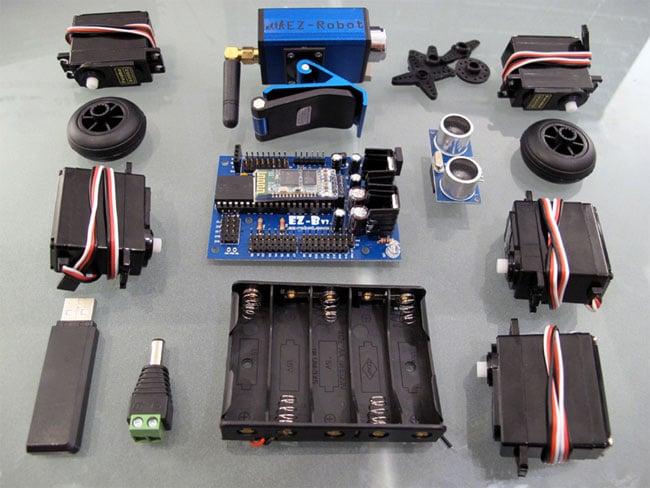 Ez Robot Launches Diy Robot Kit Video