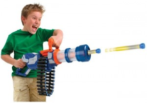 Apocalyptic War Toy: Foam Dart Rotary Cannon