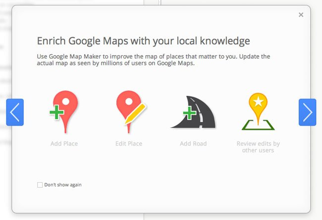 Google Map Maker Service Receives A Make Over And Updates ... on goolge maps, msn maps, amazon fire phone maps, gogole maps, googie maps, waze maps, bing maps, microsoft maps, online maps, stanford university maps, iphone maps, googlr maps, topographic maps, android maps, aeronautical maps, ipad maps, gppgle maps, road map usa states maps, aerial maps, search maps,