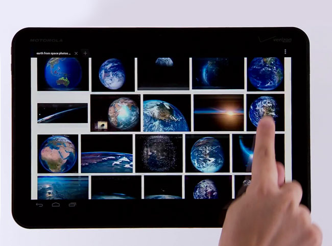 Google Search tablet Images