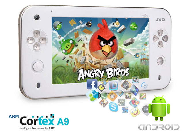 JXD S7100 Android Gaming Tablet Announced