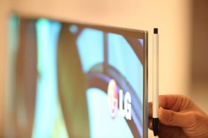 LG To Launch 55 Inch OLED HDTV At CES 2012