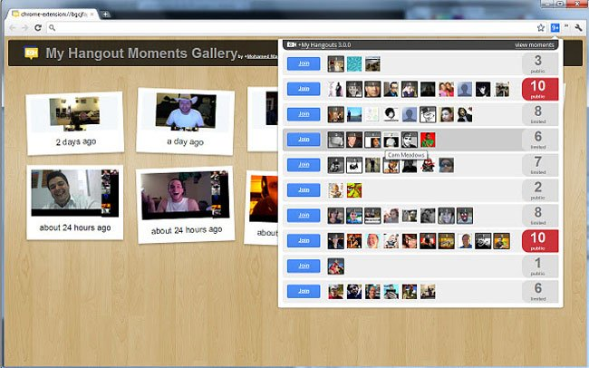 My Hangouts for Google+