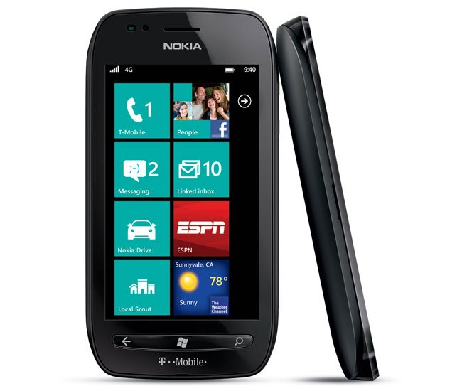 Nokia Lumia 710 Appears On T-Mobile's Website