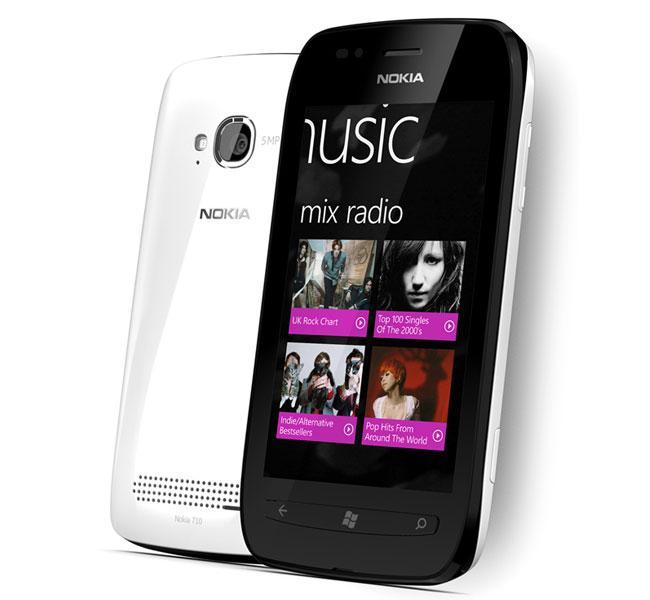 Nokia Lumia 800 VS Nokia Lumia 710