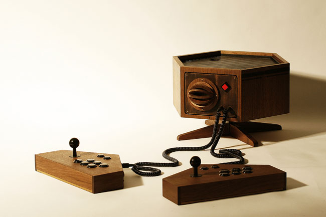 Awesome R Kaid 6 Custom Retro Wooden Video Game Console