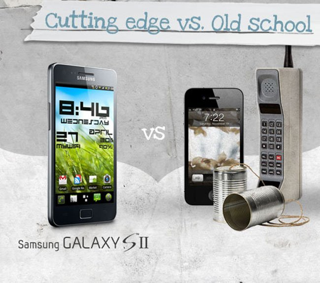 Samsung Latest Advert Calls The iPhone 'Old School'