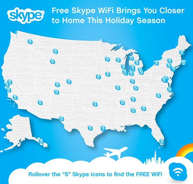 Skype Free WiFi