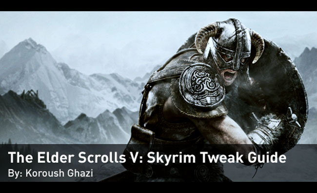 Skyrim Nvidia Tweak Guide
