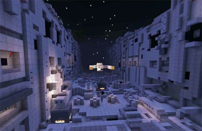 Star Wars Trench Run Minecraft