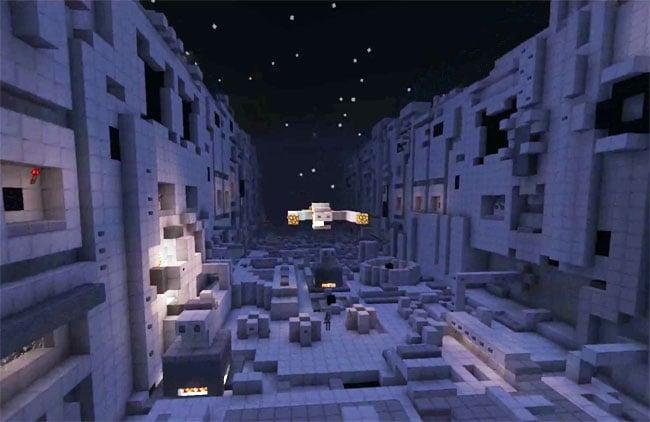 Star Wars Trench Run Minecraft