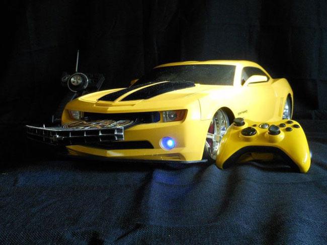 Transformers Bumblebee Xbox 360 Slim Casemod