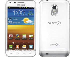White Samsung Epic 4G Touch Headed To Sprint