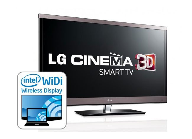 intel widi arriving on lg cinema 3d smart tvs in 2012. Black Bedroom Furniture Sets. Home Design Ideas