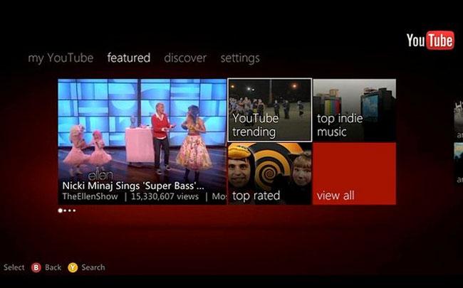 Xbox YouTube App