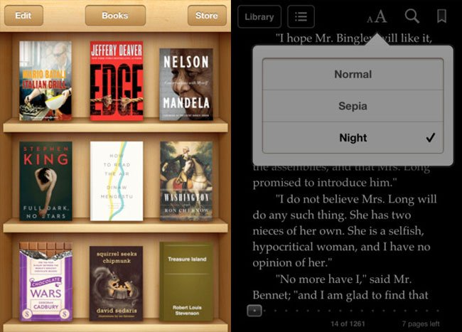 Apple's iBooks App Gets Updated, Adds New Features