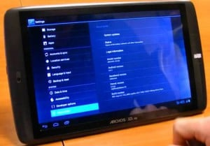 Android 4.0 ICS Coming To Archos G9 Tablets
