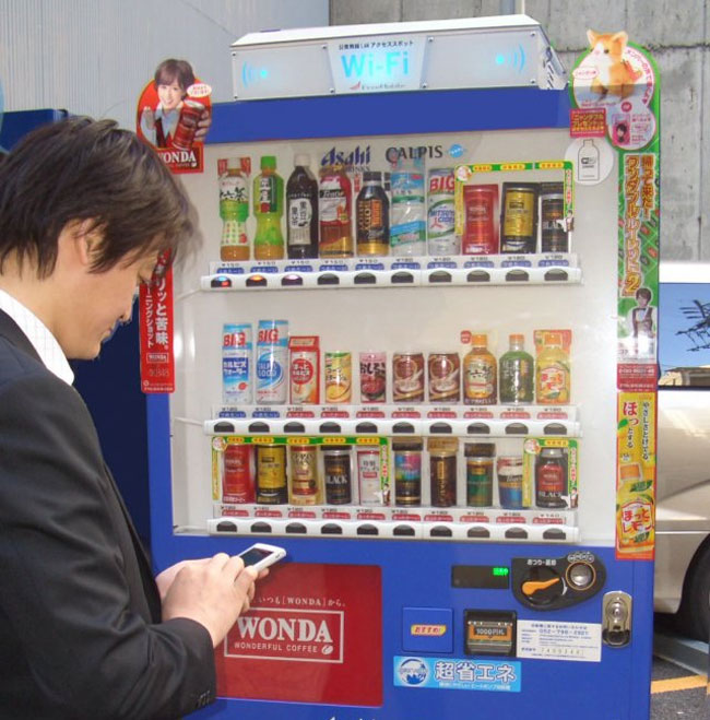 WiFi Vending Machine