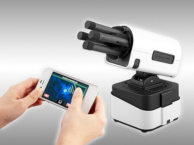 Video Camera Controlled By Iphone