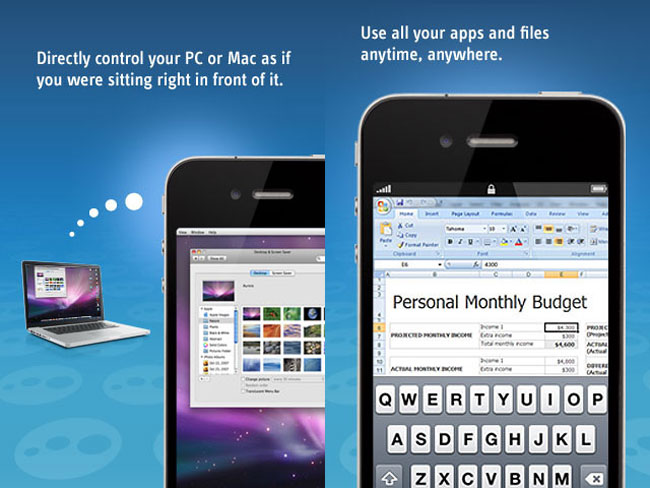 LogMeIn iPhone And iPad App Launched