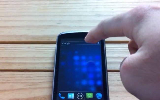Nexus One ICS