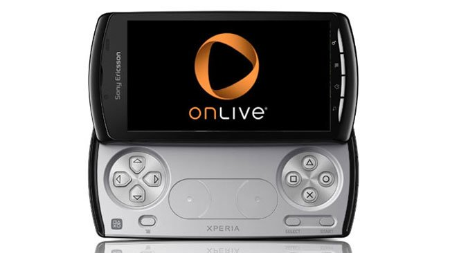 OnLive Is Updated with Support for The Controls of The Xperia Play