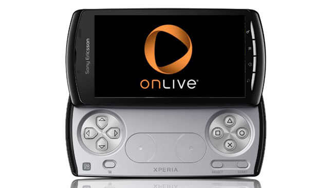 Onlive Xperia Play
