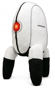Portal 2 Turret Plush from ThinkGeek is Awesome