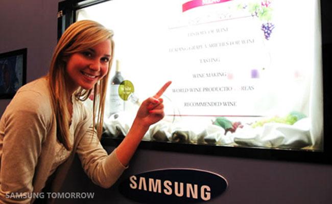 Samsung Transparent TV