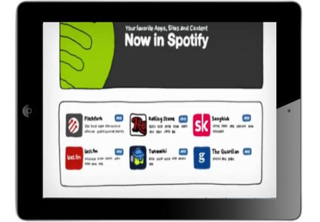 Spotify iPad App